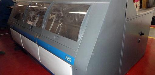 автоматическая ниткошвейная машина Smyth Freccia F180, 2002 год