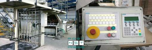 кашировальная машина для картона и гофрокартона Stock 134R56 (2000 год)