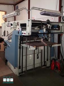 автоматический высекальный пресс TMZ-5002 (формат A1)