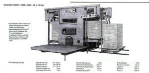 описание и характеристики штанцавтомат TMZ 6000 (модель Unicutter 6000)
