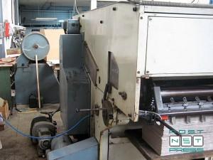 нерабочая сторона штанцагрегат TMZ 5000 (Испания)