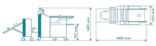 Tauler PrintLam CTI 75 (монтажная схема машины)