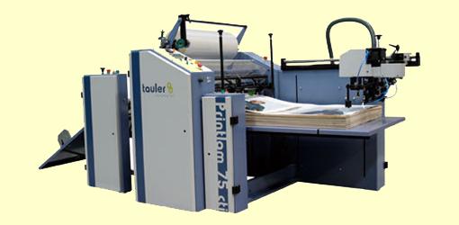 автоматический рулонный ламинатор Tauler Printlam CTI 75
