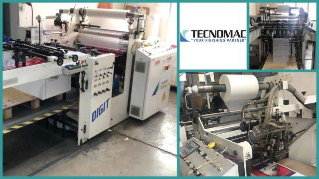 macchine per laminazione usate Tecnomac DIGIT 76 (2010)