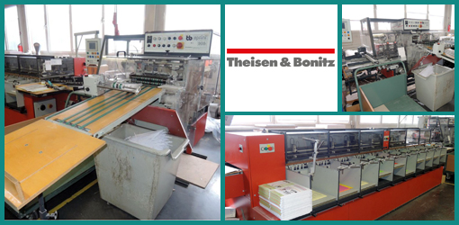продажа Theisen & Bonitz TB 310 VP + TB 303 (1999 год)