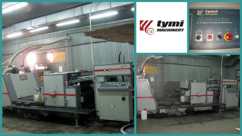 лакировальная УФ-линия Tymi USTAR-36 (2007 год)