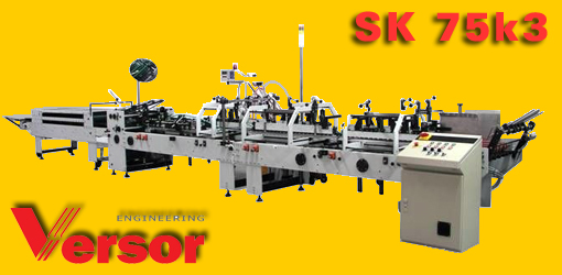 фальцевально склеивающая машина Versor SK 75k3