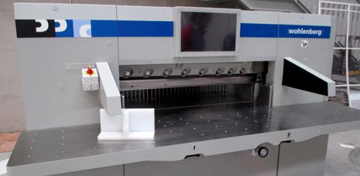 одноножевая гидравлическая бумагорезательная машина Wohlenberg 115 (2011)