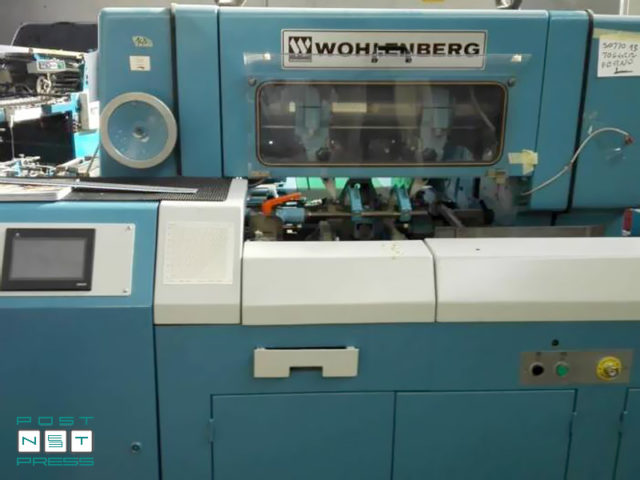 трехножевая резальная машина Wohlenberg 44 FM 50 (1990 год)
