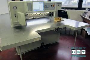 бумагорезательная машина Wohlenberg 92 HTVC (2008)