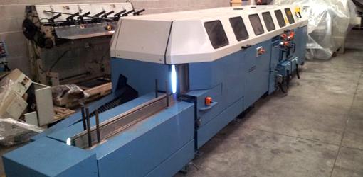 машина термоклеевого бесшвейного скрепления Wohlenberg Golf 6001, 2000 год