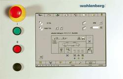 Wohlenberg Quickbinder управление