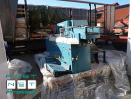 трехножевая бумагорезательная Wohlenberg trim-tec 56i