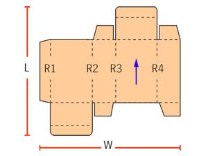боковой шов (1 точка склейки)
