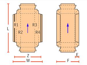 коробки с двойными стенками