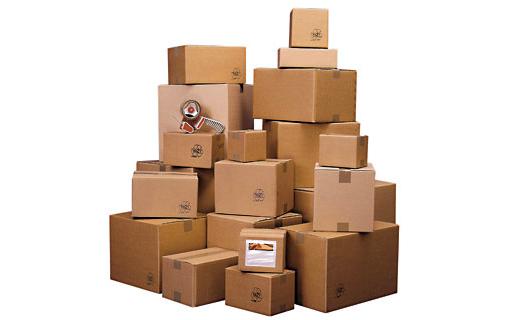 варианты гофрокартонных коробок
