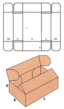 каталог FEFCO (образец коробки)